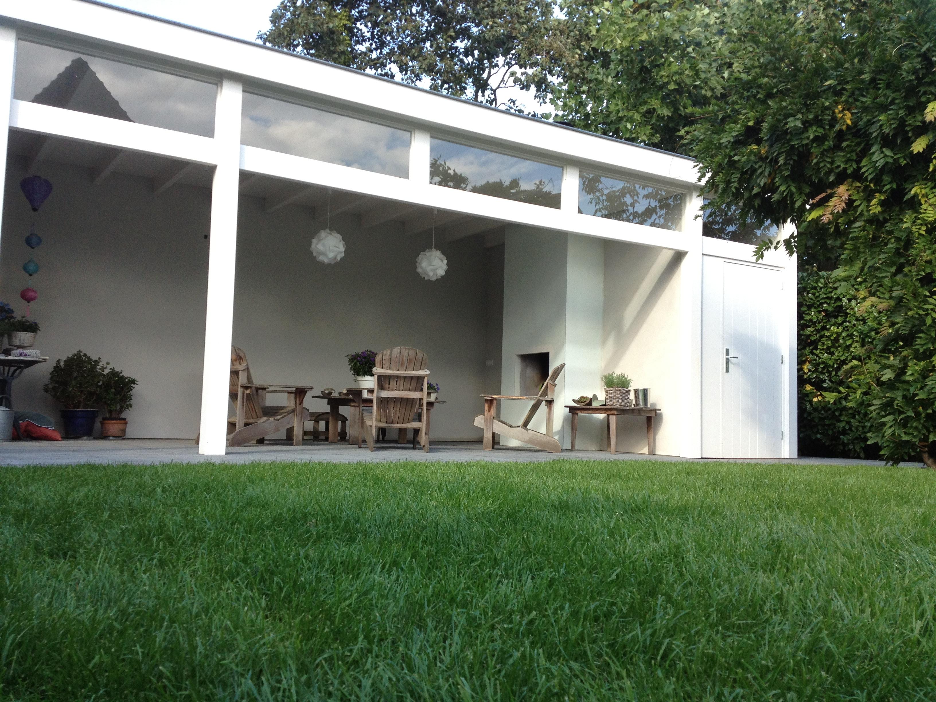 Overkapping In Tuin : Overkapping en tuin lebbink tuinen